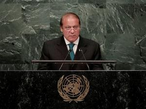 Nawaz Sharif at UNGA
