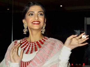 Bollywood actor Sonam Kapoor during an event to celebrate film Neerja's success