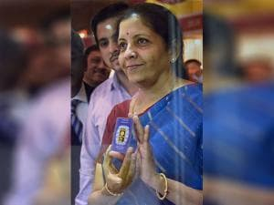 Union Commerce & Industry Minister Nirmala Sitharaman inaugurates the MMTC Festival of Gold