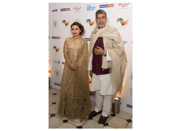 British Asian Trust, Kailash Satyarthi, Rani Mukerji, Photo, The Prince of Wales, The Duchess of Cornwall