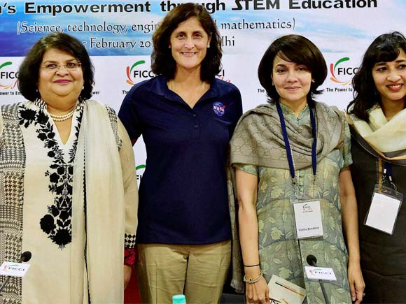 Sunita Williams, Astronaut, NASA, Space, Women Empowerment through STEM, Women Empowerment, FICCI, New Delhi