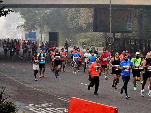 Delhi Marathon 2016, Delhi Half Marathon 2016, Airtel, Marathon