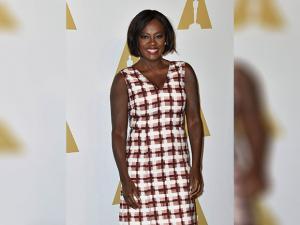Viola Davis arrives at the 89th Academy Awards Nominees Luncheon