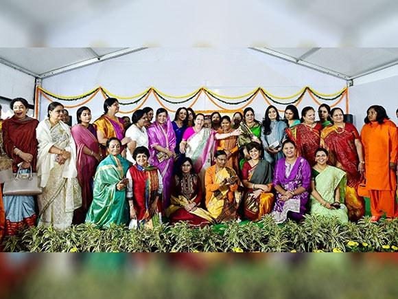 Women's day, Sneh Milan, international Women's day, Lok Sabha Speaker, Smriti Irani, Sumitra Mahajan