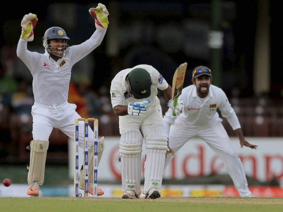 Asad Shafiq, Dinesh Chandimal, Pakistan, Sri Lanka, Colombo