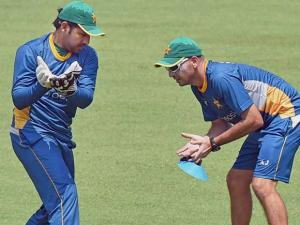 Pakistan cricket team_at a practice session for the upcoming T 20 World Cup at Eden Garden