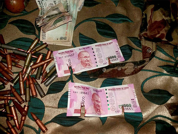 militants, denomination, 2000, New currency, notes, Bandipora