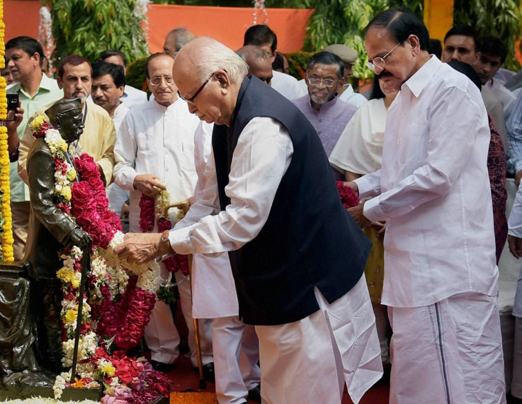 Senior BJP leader, L K Advani, Union Urban Development Minister, M. Venkaiah Naidu, pay, tribute, Pandit Govind Ballabh Pant, 127th birth anniversary, New Delhi