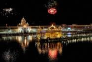 Fireworks on the occasion of 410th installation anniversary of Sri Guru Granth Sahib