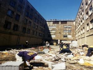 Pentagon during wake of 9/11