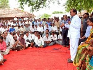 Telangana Chief Minister K Chandrashekar Rao
