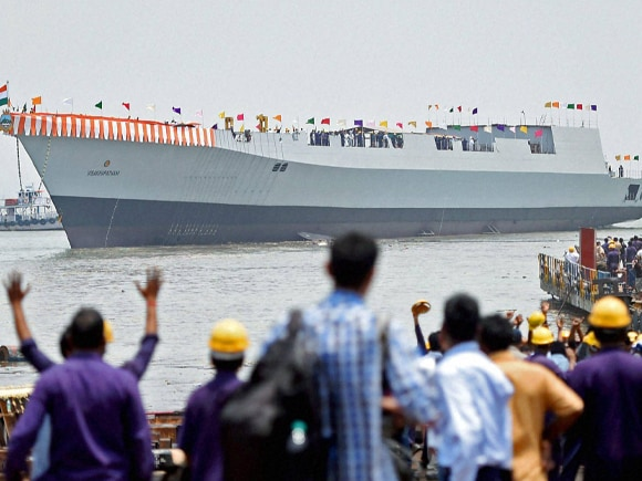 Indian Navy, Nuclear, Biological, Chemical Atmosphere