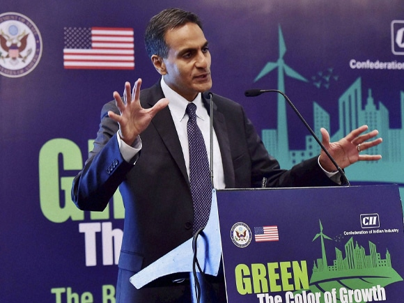 US Ambassador, Richard Verma, GREEN-The Colour of Growth, CII