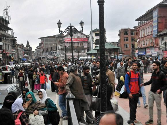 Earthquake at Lal Chowk, Massive earthquake, Jammu and Kashmir