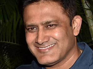 Anil Kumble appointed as coach