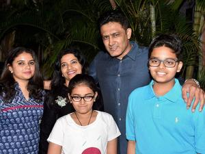 Newly appointed Indian Cricket Team Head Coach Anil Kumble