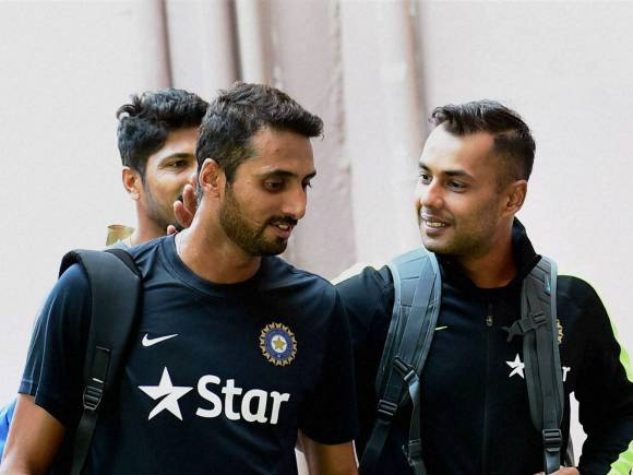 Stuart Binny, S Arvind, India, India vs South Africa, India vs South Africa 2015, MS Dhoni, South Africa, South Africa tour of India 2015, South Africa vs India, South Africa vs India 2015