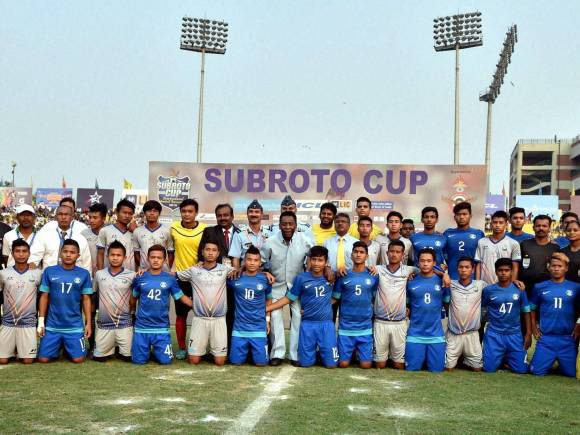 Pele, Delhi, Subroto Cup, Indian Air Force, AIFF, Under-17 boys final match, Thoubal, Manipur, Football News