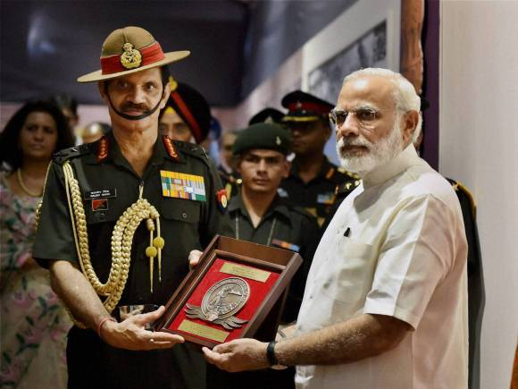 Indian Army Chief General, Bikram Singh, Shauryanjali, Narendra Modi, PM Modi, 1965 India-Pakistan War, 1965 war, 1965 war Exhibition, Modi 1965 War Exhibition