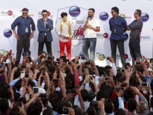 Cricketer Virat Kohli talking to media