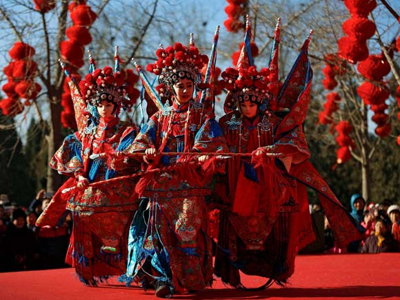 Chinese dancer, Cultural dance, Lunar New Year celebration, Beijing, Chinese new year,Business Standard