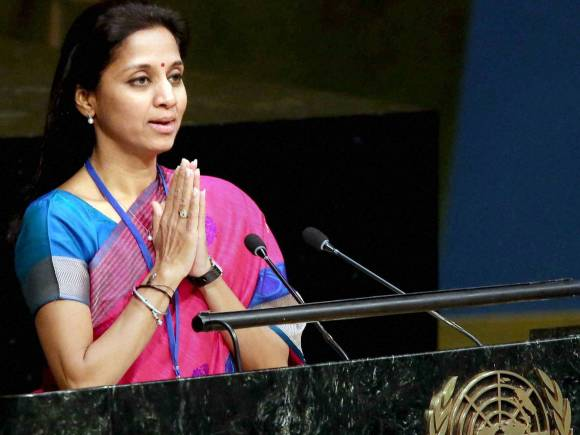 NCP MP, Supriya Sule, 70th Session of the United Nations General Assembly, New York