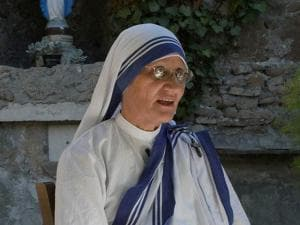 Mother Superior of the Missionaries of Charity Sister Prema