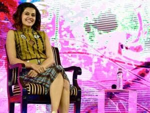 Taapsee Pannu during NDTV Youth for change conclave