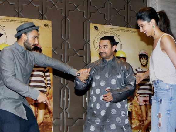 Ranveer Singh, Aamir Khan, Deepika Padukone, PK, China, Mumbai
