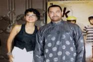 Aamir Khan along with his wife Kiran Rao