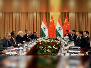 Delegations of India and China