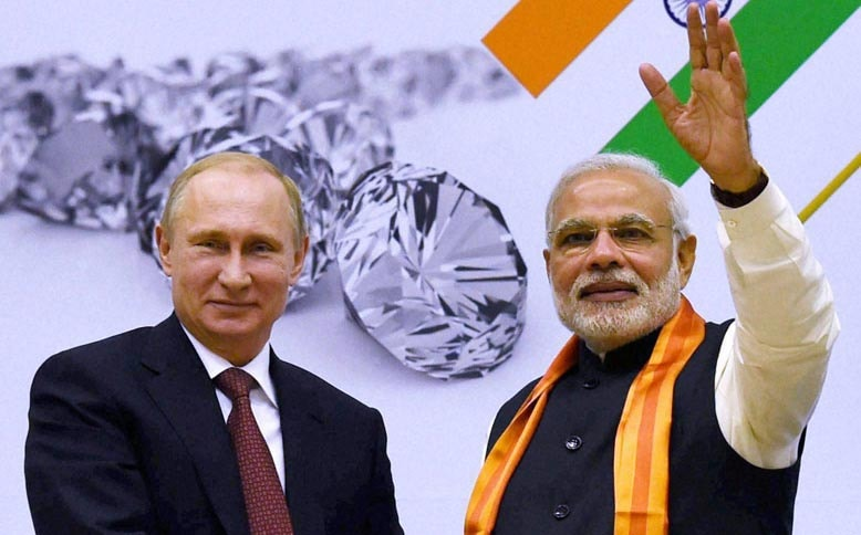 Narendra Modi, Prime Minister of India, Vladimir Putin, President of Russia , world diamond conference 2014,new delhi, bollywood actress, Sonam Kapoor, Commerce Minister of India, Nirmala Sitharam
