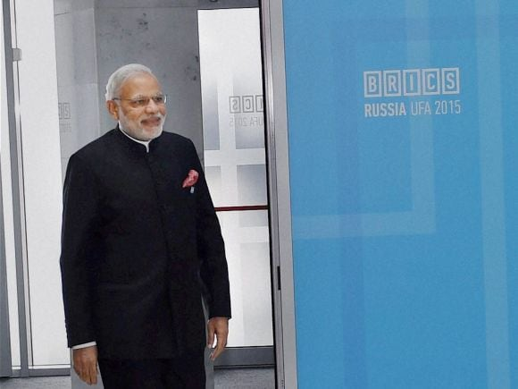 Narendra Modi, Russia, India, BRICS, 7th BRICS Summit, Summit, Ufa