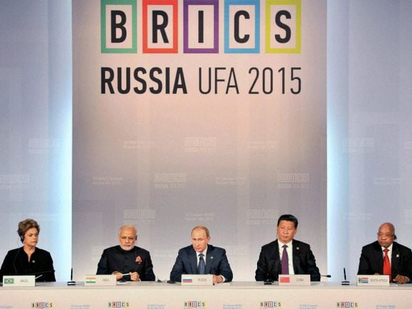 Narendra Modi, Russia, India, BRICS, Pakistan, 7th BRICS Summit, Summit, Iran, Russian President, Vladimir Putin, Ufa, Brazilian President, Dilma Rousseff, Chinese President, Xi Jinping,  South African President, Jacob Zuma, Nawaz Sharif, Hassan Ruhani, Belarus,  Alexander Lukashenko, Afghanistan, Ashraf Ghani, President of Uzbekistan Islam Karimov, Mongolia,  Tsakhiagiin Elbegdor, Kazakhstan, Nursultan Nazarbayev
