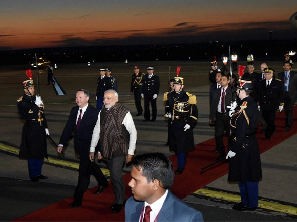 Prime Minister of India, Narendra Mod, PM Modi, Modi, Paris, French Sports minister, Thierry Braillard, France