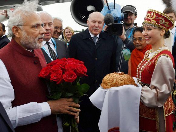 Prime Minister of India, Narendra Modi, Russia, Ufa, India, President of Russia, Vladimir Putin, BRICS, Summit, Kazakhstan