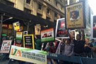 Activists in New York protest PM Modi's US visit