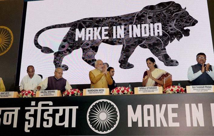 Prime Minister, Narendra Modi, launch, Make in India Mission,  Vigyan Bhavan
