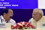Prime Minister Narendra Modi with Venkaiah Naidu