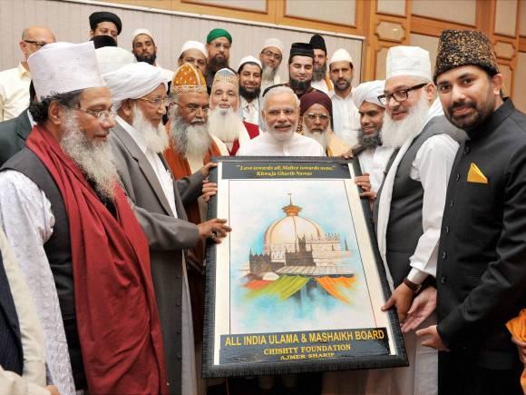 Narendra Modi, PM Modi, Social media, Sufi ideology, Aiumb, Indian ethos, Sufi scholars, Prime Minister of India, Prime Minister Narendra Modi, Prime Minister Modi, PM House, New Delhi, Sanjay Gore