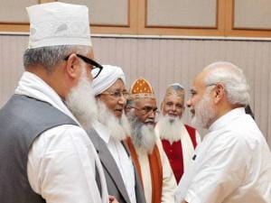 Modi meets delegation of Sufi scholars at PM House