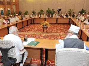 PM Modi meets delegation of Sufi scholars at PM House