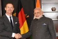 PM Modi meets Allianz CEO Baete in Berlin