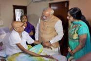 Prime Minister Narendra Modi meeting Cho Ramaswamy