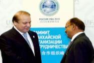PM Modi meets Nawaz Sharif at Ufa in Russia