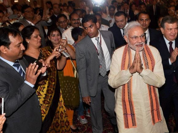 Prime Minister of India, Narendra Modi, India, Uzbekistan, President of Uzbekistan, Islam Karimov, Tashkent, Indian Community, NSA, Ajit Doval