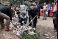 Union Health and Family Welfare Minister J P Nadda participate in the Swachh Bharat Abhiyaan