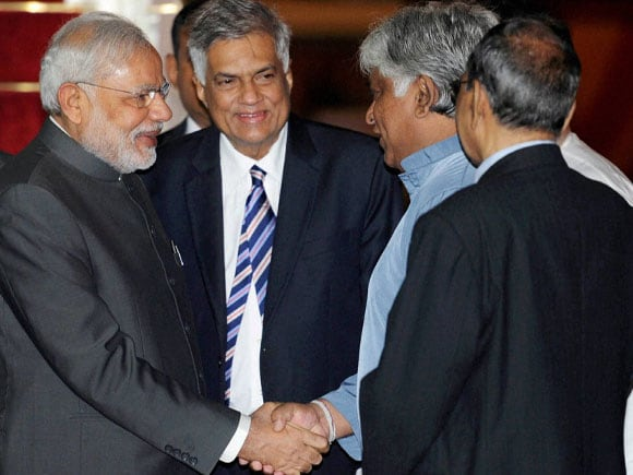 Prime Minister of India, Narendra Modi, Prime Minister of Sri Lankan, Ranil Wickremesinghe, Colombo, India, International News, National News