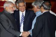 Prime Minister Narendra Modi with his Sri Lankan counterpart Ranil Wickremesinghe