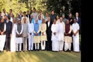 Prime Minister Narendra Modi and Chief Ministers and Governors of various states